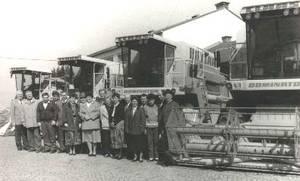 Erster Landmaschinenmarkt bei Deschberger 1973