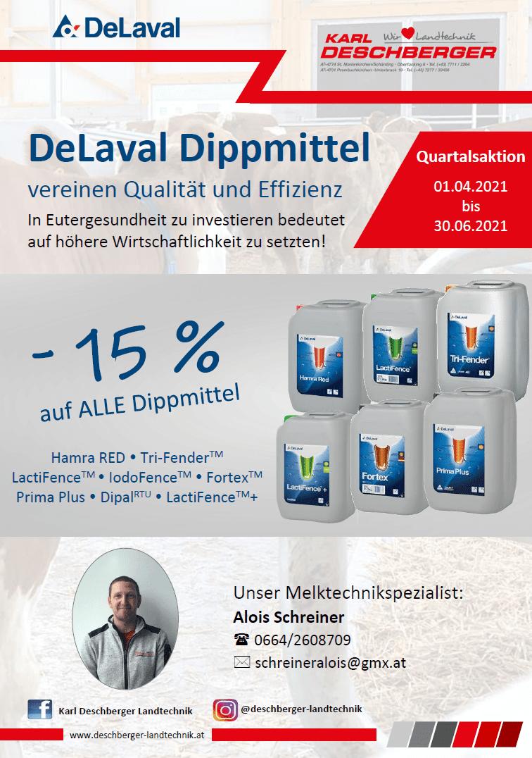 DeLaval Dippmittel - Quartalsaktion Q2