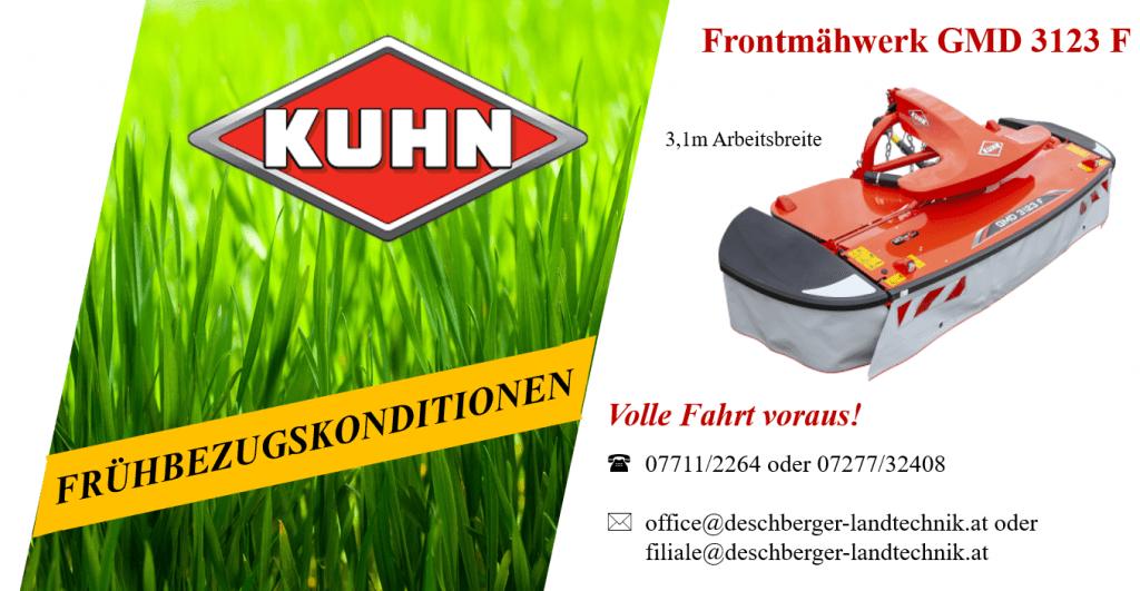 Kuhn Frontmähwerk GMD 3123 F
