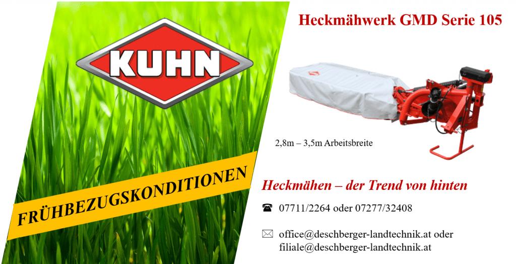 Kuhn Heckmähwerk GMD Serie 105