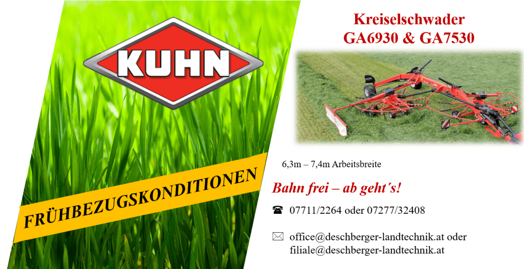 Kuhn Kreiselschwader GA 6930 & GA7530