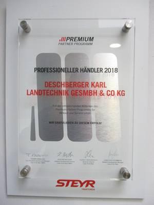 Auszeichnung Professioneller Steyr-Händler 2018