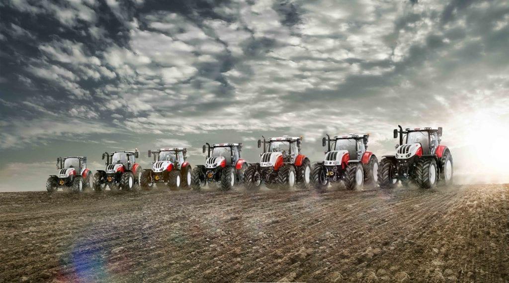 STEYR Traktoren Sortiment