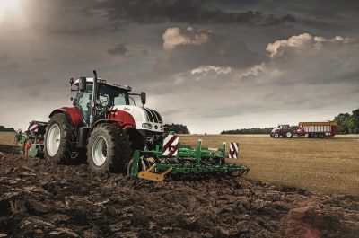 Traktor STEYR CVT
