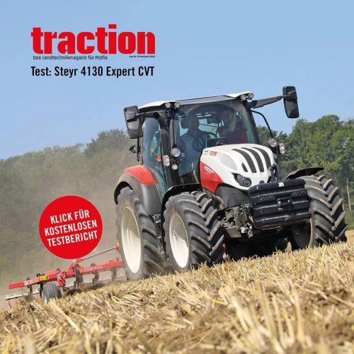 Traction Fahrbericht Steyr Expert CVT