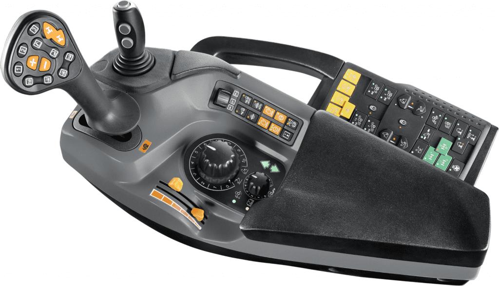 STEYR Expert CVT Multicontroller Armlehne